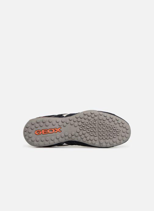 Sneaker Geox U SNAKE K U4207K blau ansicht von oben