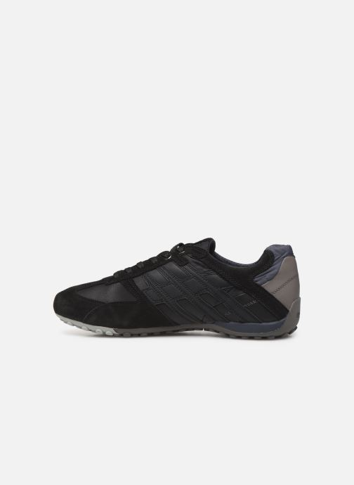 Sneaker Geox U SNAKE K U4207K schwarz ansicht von vorne