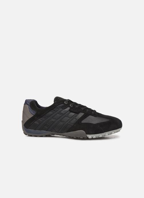 Sneaker Geox U SNAKE K U4207K schwarz ansicht von hinten