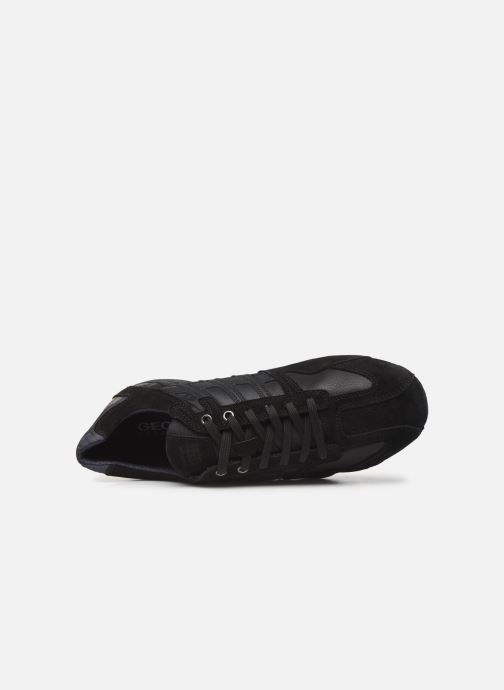 Trainers Geox U SNAKE K U4207K Black view from the left