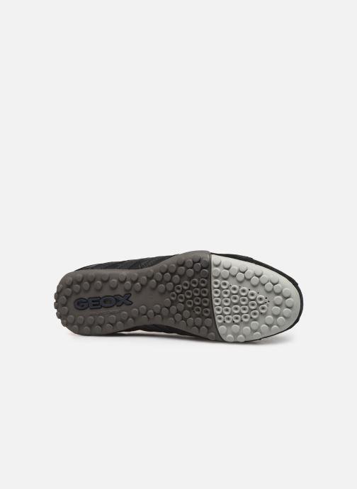 Sneaker Geox U SNAKE K U4207K schwarz ansicht von oben