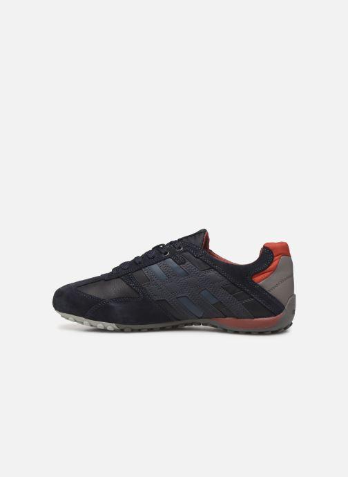 Sneakers Geox U SNAKE K U4207K Blauw voorkant