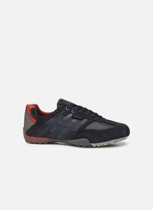 Sneakers Geox U SNAKE K U4207K Blauw achterkant