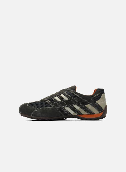 Sneaker Geox U SNAKE L U4207L grau ansicht von vorne