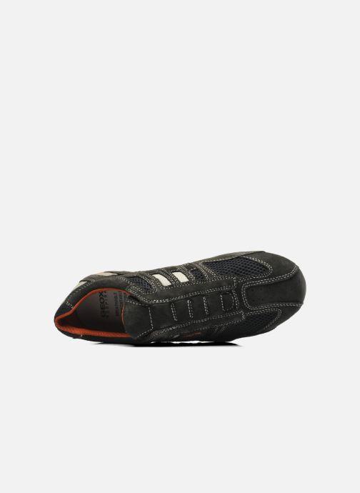 Sneaker Geox U SNAKE L U4207L grau ansicht von links