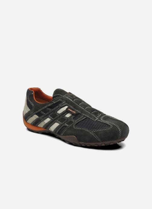 Sneakers Geox U SNAKE L U4207L Grijs detail