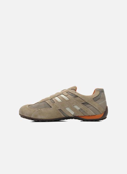 Sneakers Geox U SNAKE L U4207L Beige immagine frontale
