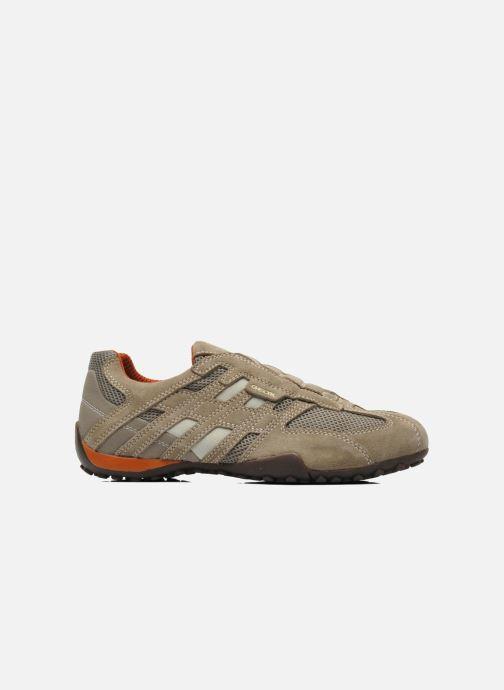 Sneaker Geox U SNAKE L U4207L beige ansicht von hinten
