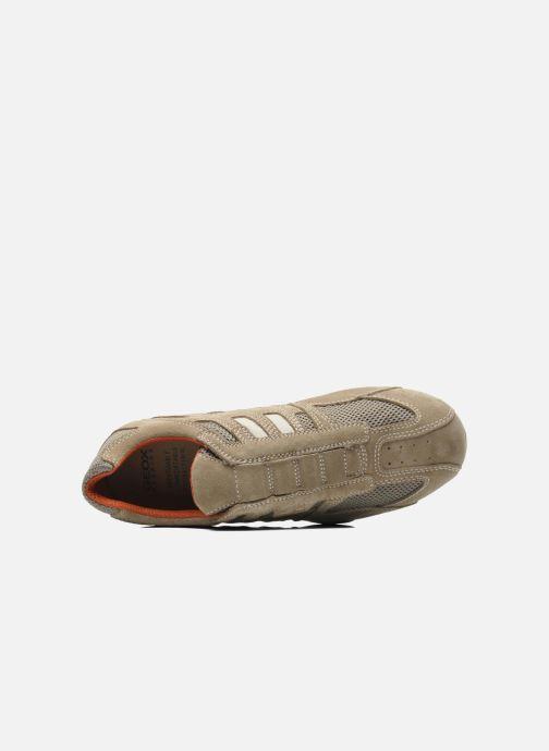 Sneaker Geox U SNAKE L U4207L beige ansicht von links