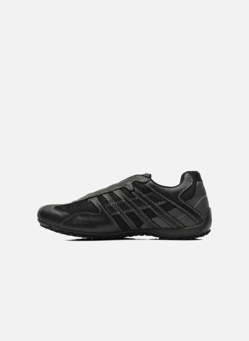 Sneakers Geox U SNAKE L U4207L Nero immagine frontale