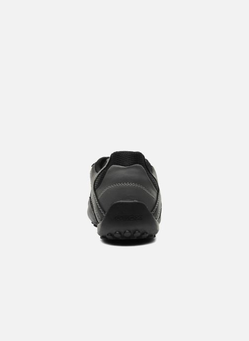 Baskets Geox U SNAKE L U4207L Noir vue droite