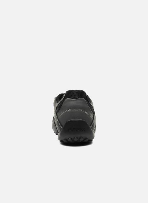 Sneakers Geox U SNAKE L U4207L Nero immagine destra