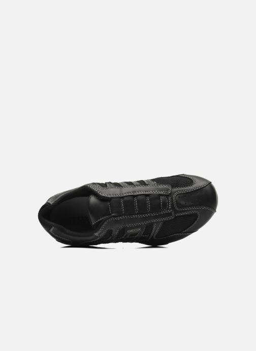 Sneakers Geox U SNAKE L U4207L Nero immagine sinistra