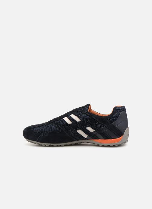 Sneakers Geox U SNAKE L U4207L Azzurro immagine frontale