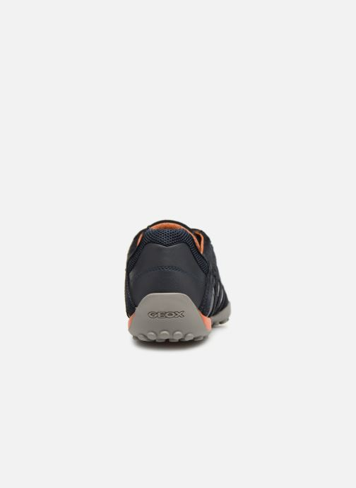 Sneaker Geox U SNAKE L U4207L blau ansicht von rechts