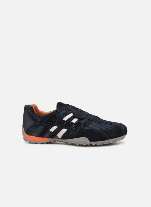 Sneaker Geox U SNAKE L U4207L blau ansicht von hinten