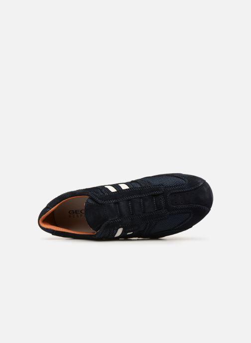 Sneakers Geox U SNAKE L U4207L Blauw links