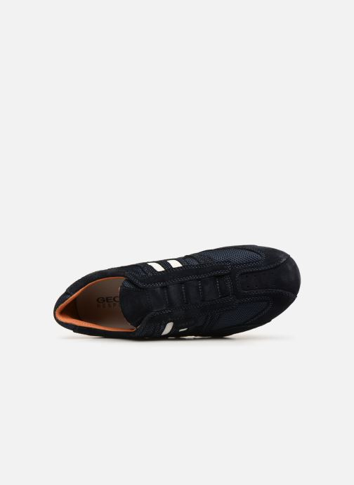 Sneaker Geox U SNAKE L U4207L blau ansicht von links