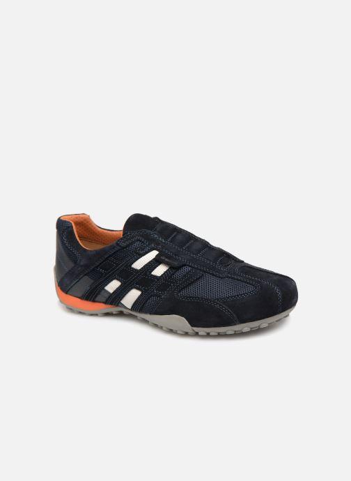 Sneakers Geox U SNAKE L U4207L Blauw detail
