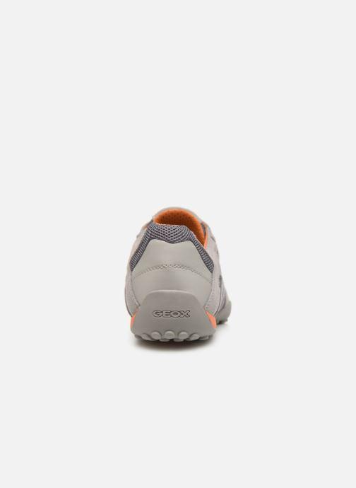 Sneaker Geox U SNAKE L U4207L grau ansicht von rechts