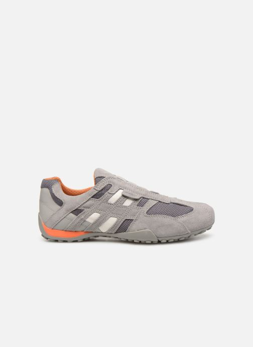 Sneaker Geox U SNAKE L U4207L grau ansicht von hinten