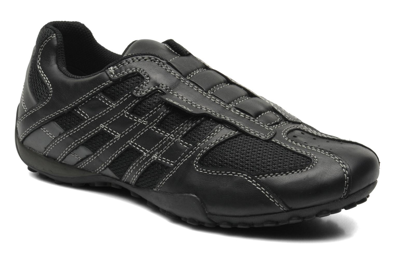 Baskets Geox U SNAKE L U4207L Noir vue détail/paire