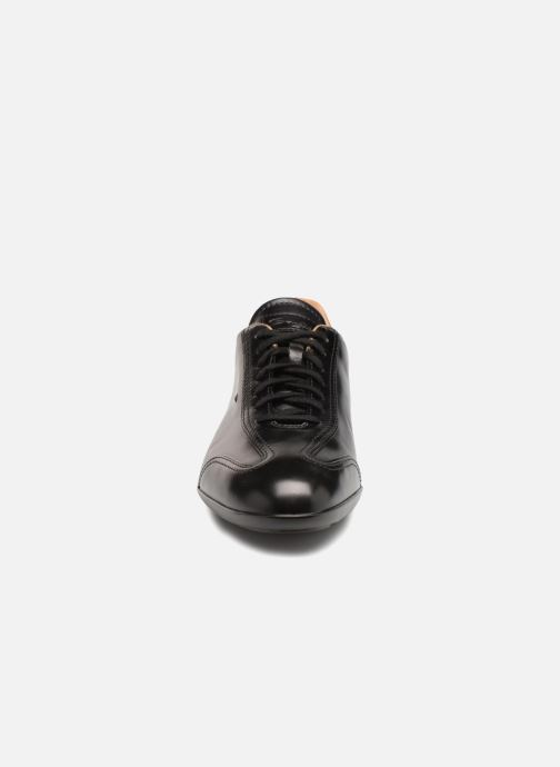 Trainers Santoni Eagle 13831 Black model view