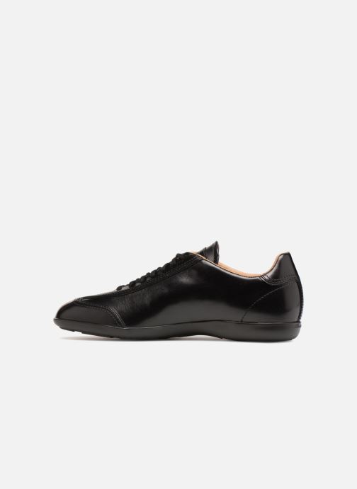 Trainers Santoni Eagle 13831 Black front view