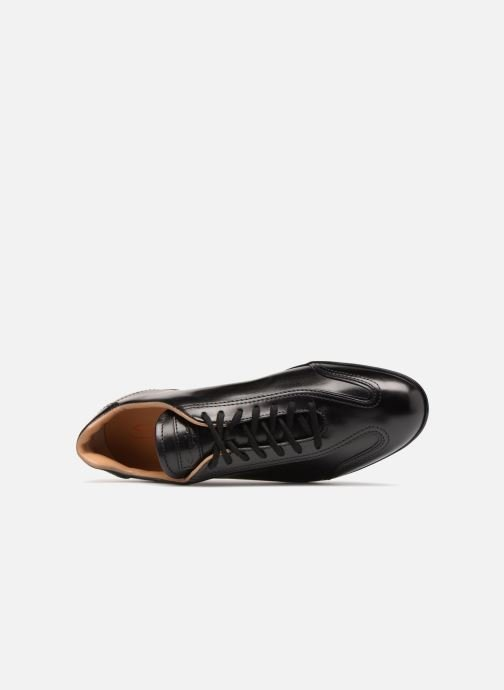 Trainers Santoni Eagle 13831 Black view from the left
