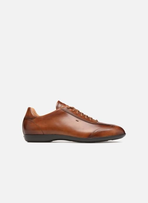 Trainers Santoni Eagle 13831 Brown back view