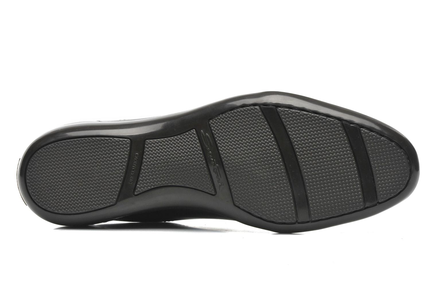 Trainers Santoni Eagle 13831 Black view from above