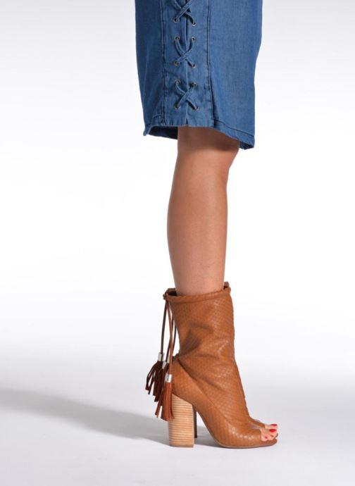 Stiefeletten & Boots Geox By Patrick Cox D NOLINA A D5288A braun ansicht von unten / tasche getragen