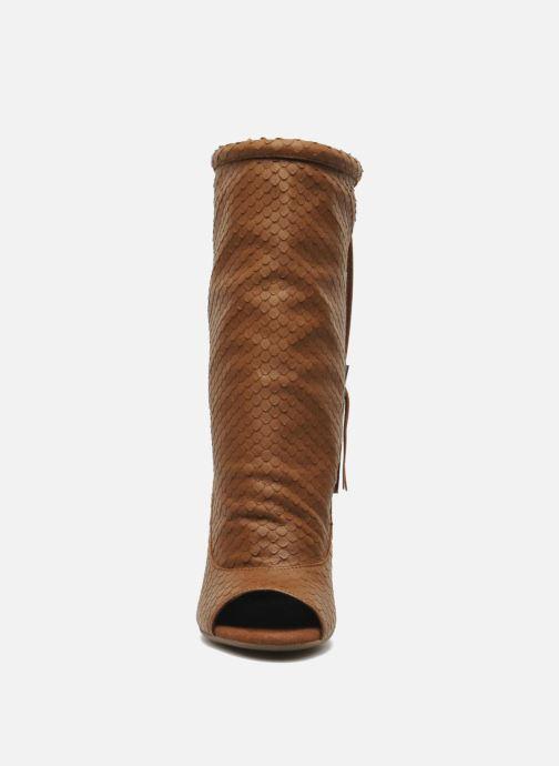 Bottines et boots Geox By Patrick Cox D NOLINA A D5288A Marron vue portées chaussures