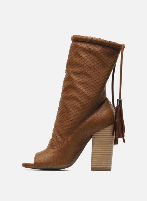 Bottines et boots Geox By Patrick Cox D NOLINA A D5288A Marron vue face