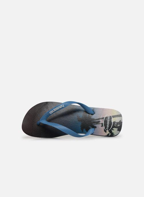 Tongs Havaianas Hype Bleu vue gauche