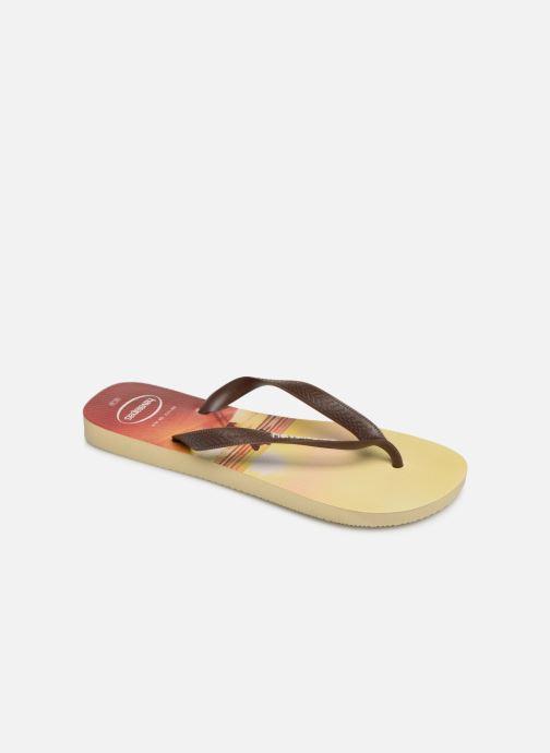 Flip flops & klipklapper Havaianas Hype Orange detaljeret billede af skoene