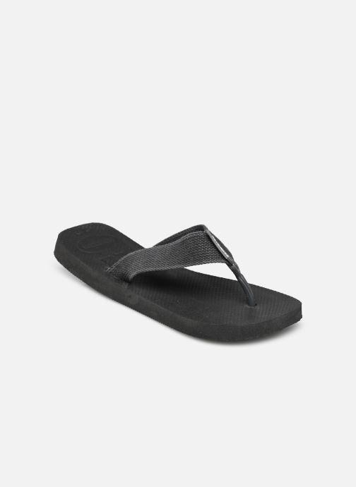 Tongs Havaianas Urban Basic Noir vue portées chaussures