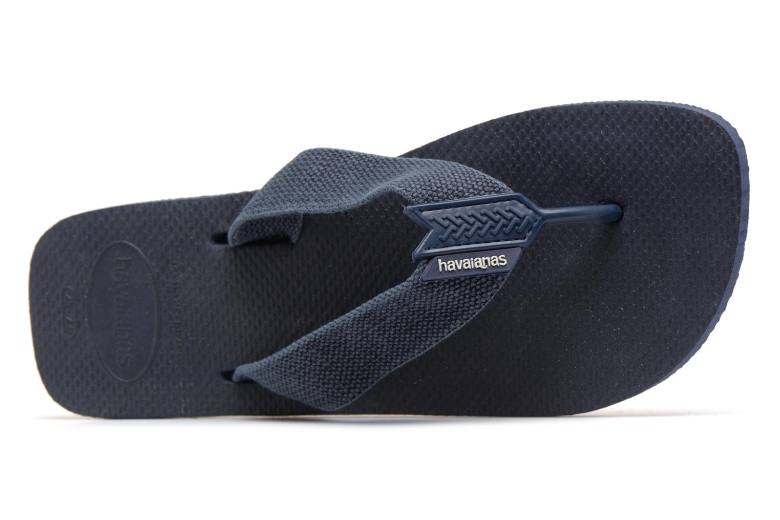 Flip flops Havaianas Urban Basic Blue view from the left
