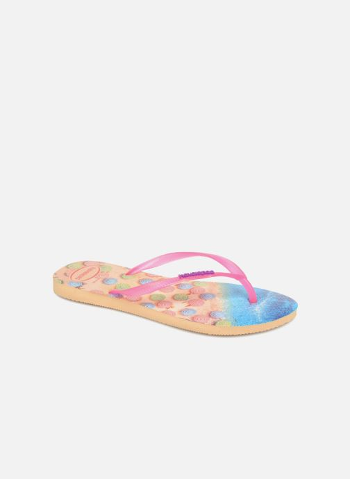 Tongs Havaianas Slim Paisage Multicolore vue détail/paire