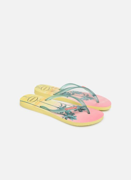 Chanclas Havaianas Slim Paisage Multicolor vista 3/4
