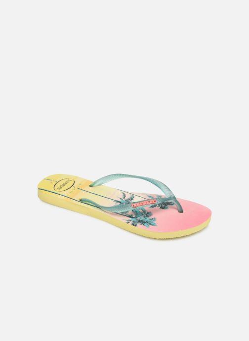 Tongs Havaianas Slim Paisage Multicolore vue détail/paire