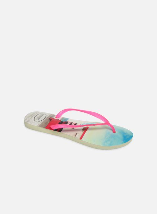 Flip flops Havaianas Slim Paisage Multicolor detailed view/ Pair view
