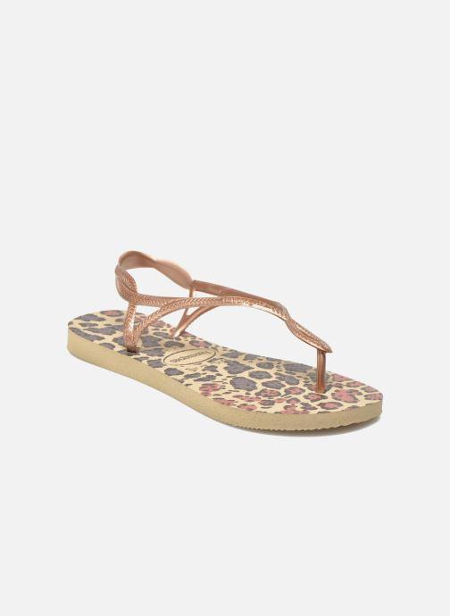 be89507366f Havaianas Havaianas Luna Animals (Bronze and Gold) - Sandals chez ...