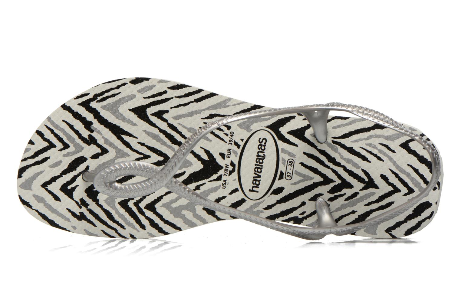 Sandals Havaianas Havaianas Luna Animals Grey view from the left