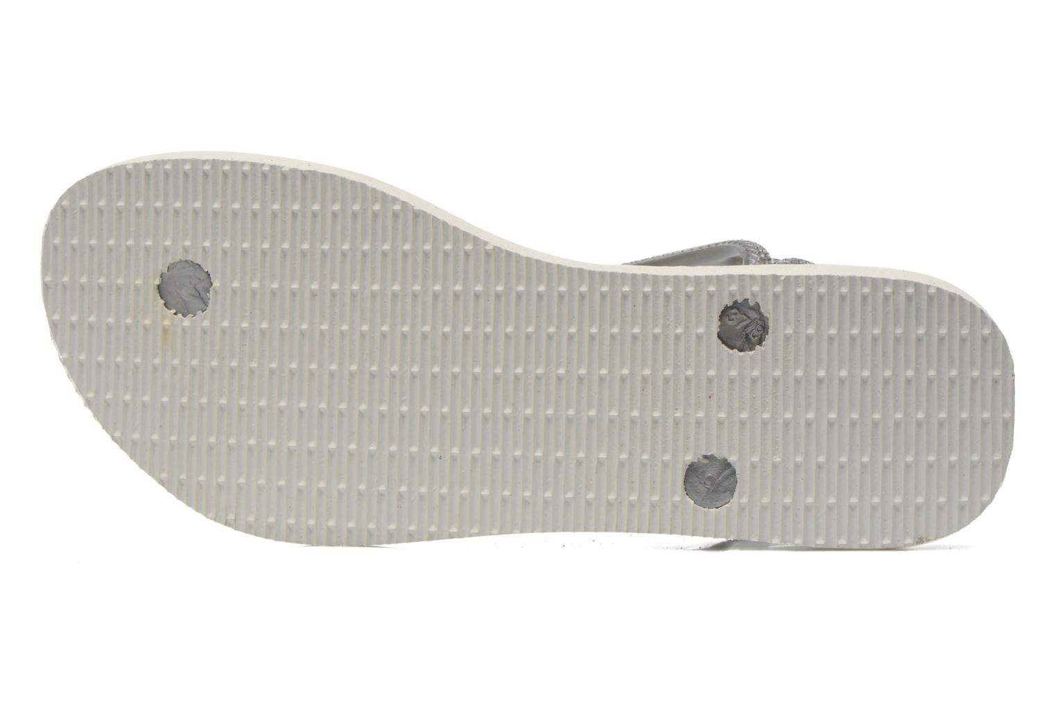 Sandals Havaianas Havaianas Luna Animals Grey view from above
