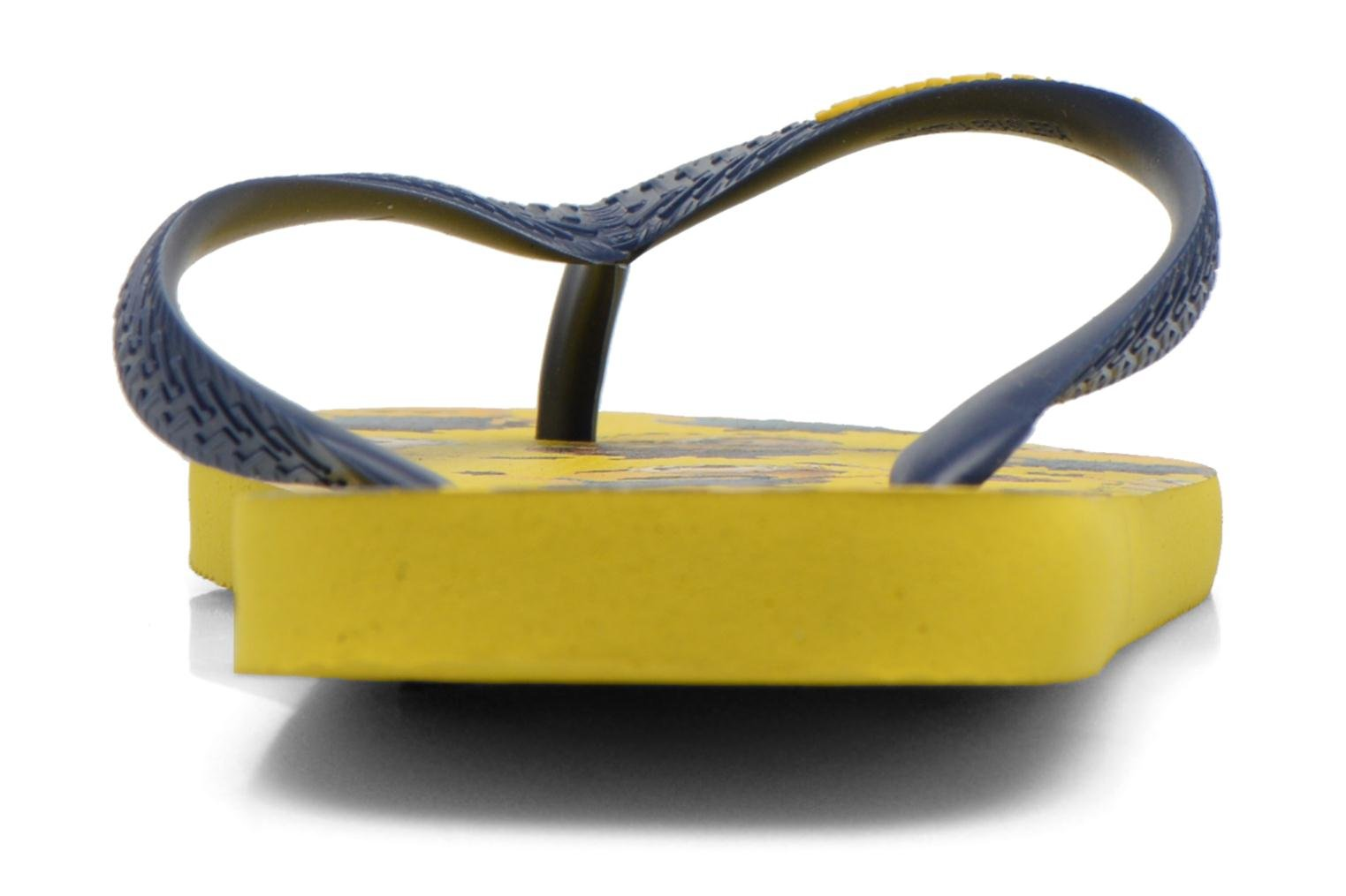 Flip flops Havaianas Havaianas Minions H Multicolor view from the right