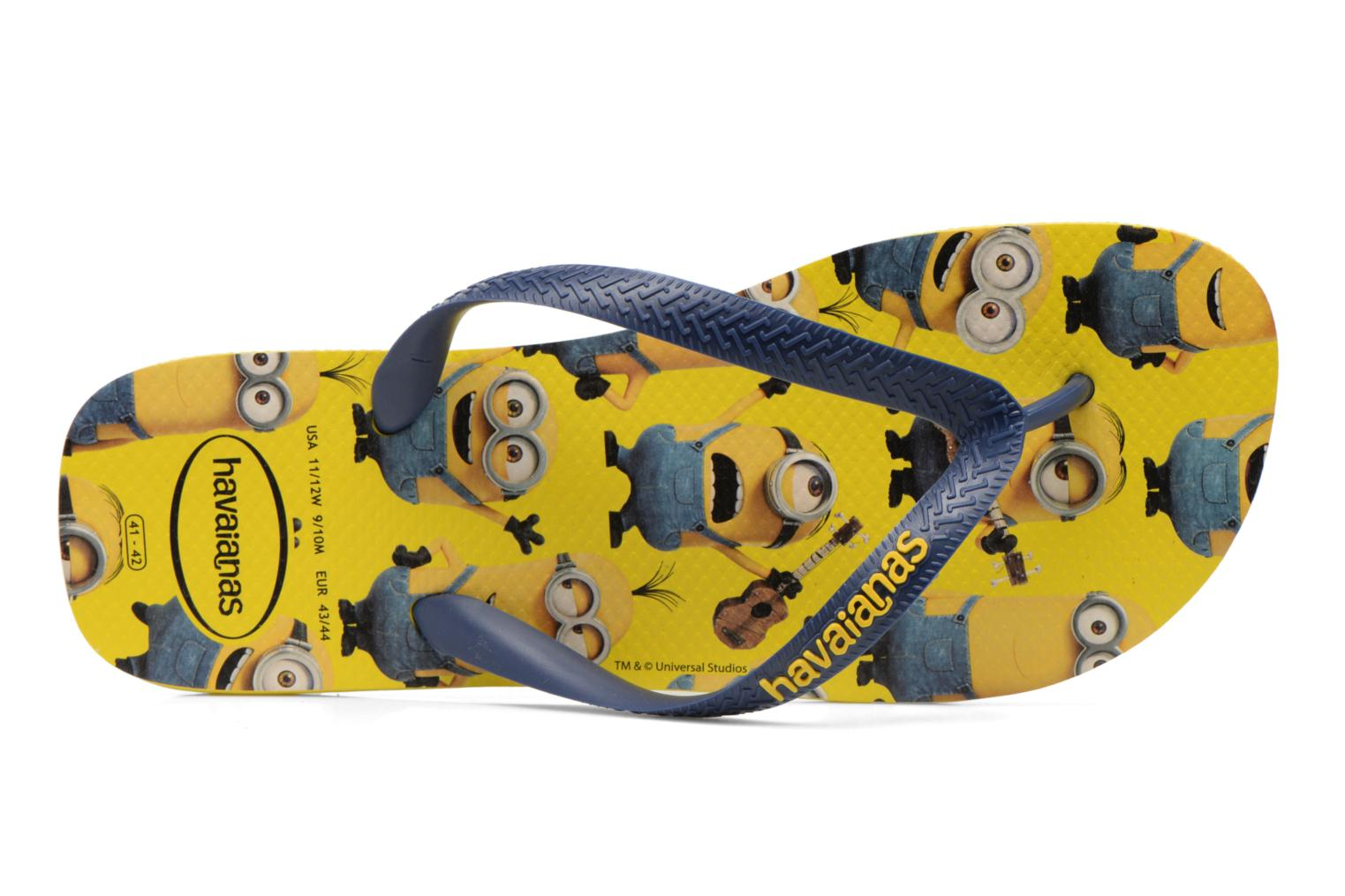 Flip flops Havaianas Havaianas Minions H Multicolor view from the left