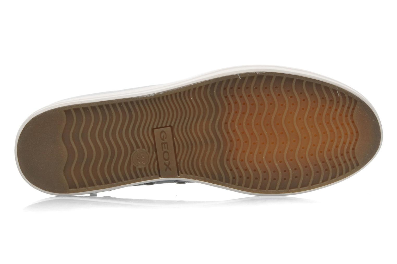 Baskets Geox D HIDENCE A D4234A Beige vue haut