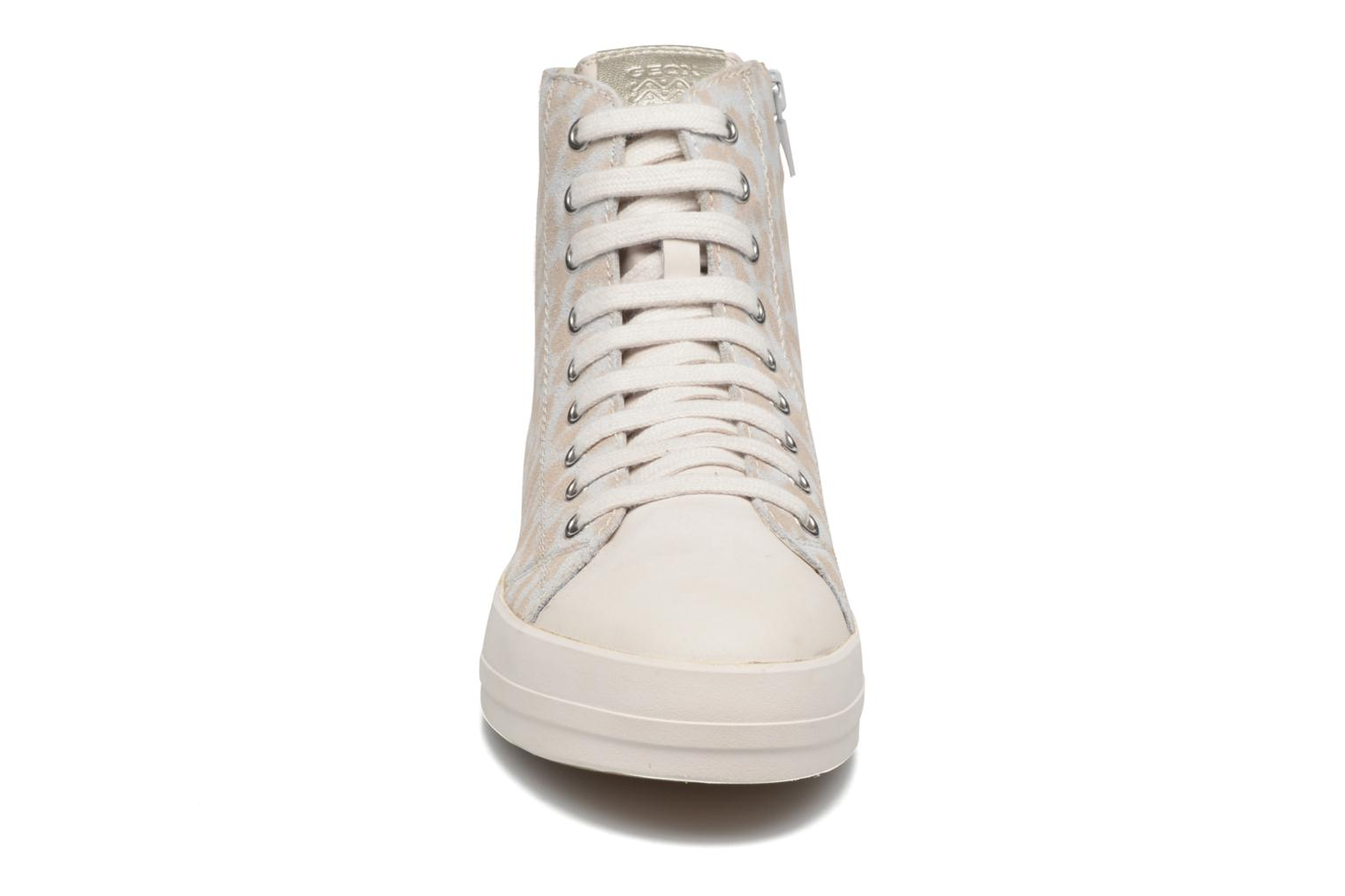 Trainers Geox D HIDENCE A D4234A White model view