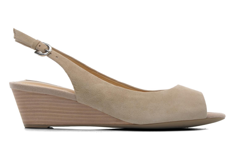 Sandales et nu-pieds Geox D FLORALIE C D42T4C Beige vue derrière
